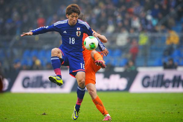 日本代表大迫勇也選手