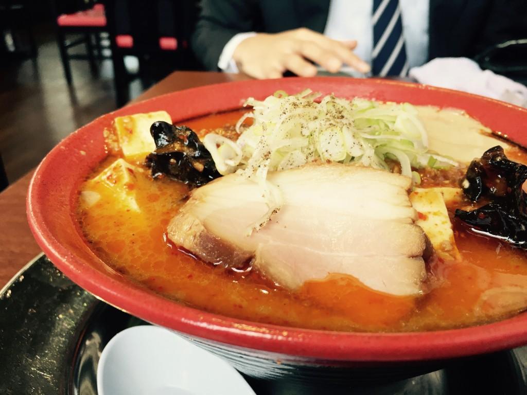 僕が食べた味噌麻婆担々麺