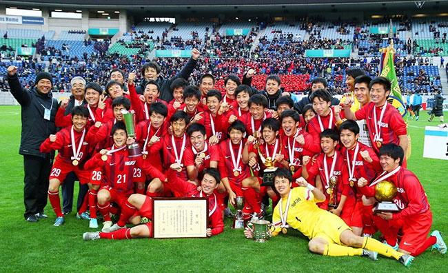 優勝した東福岡高校