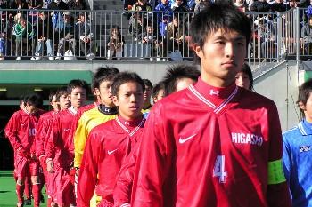 東福岡時代の長友選手