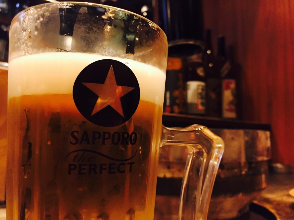 当然ビール
