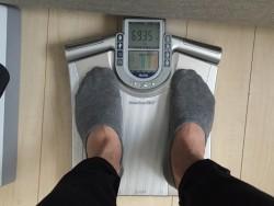 過去最高体重