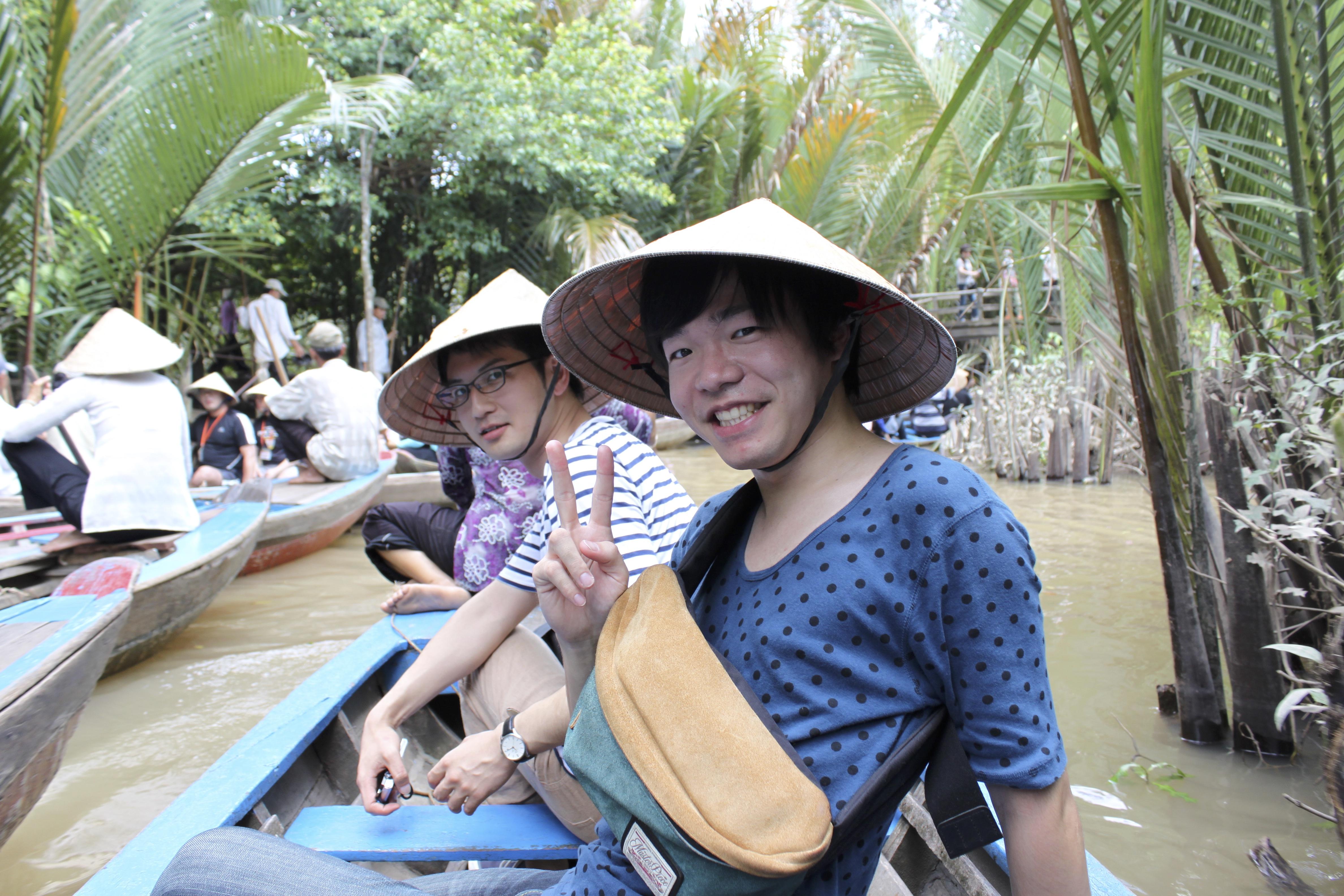 社員旅行ではベトナムや韓国、ディズニーランドへ行かせてもらいました