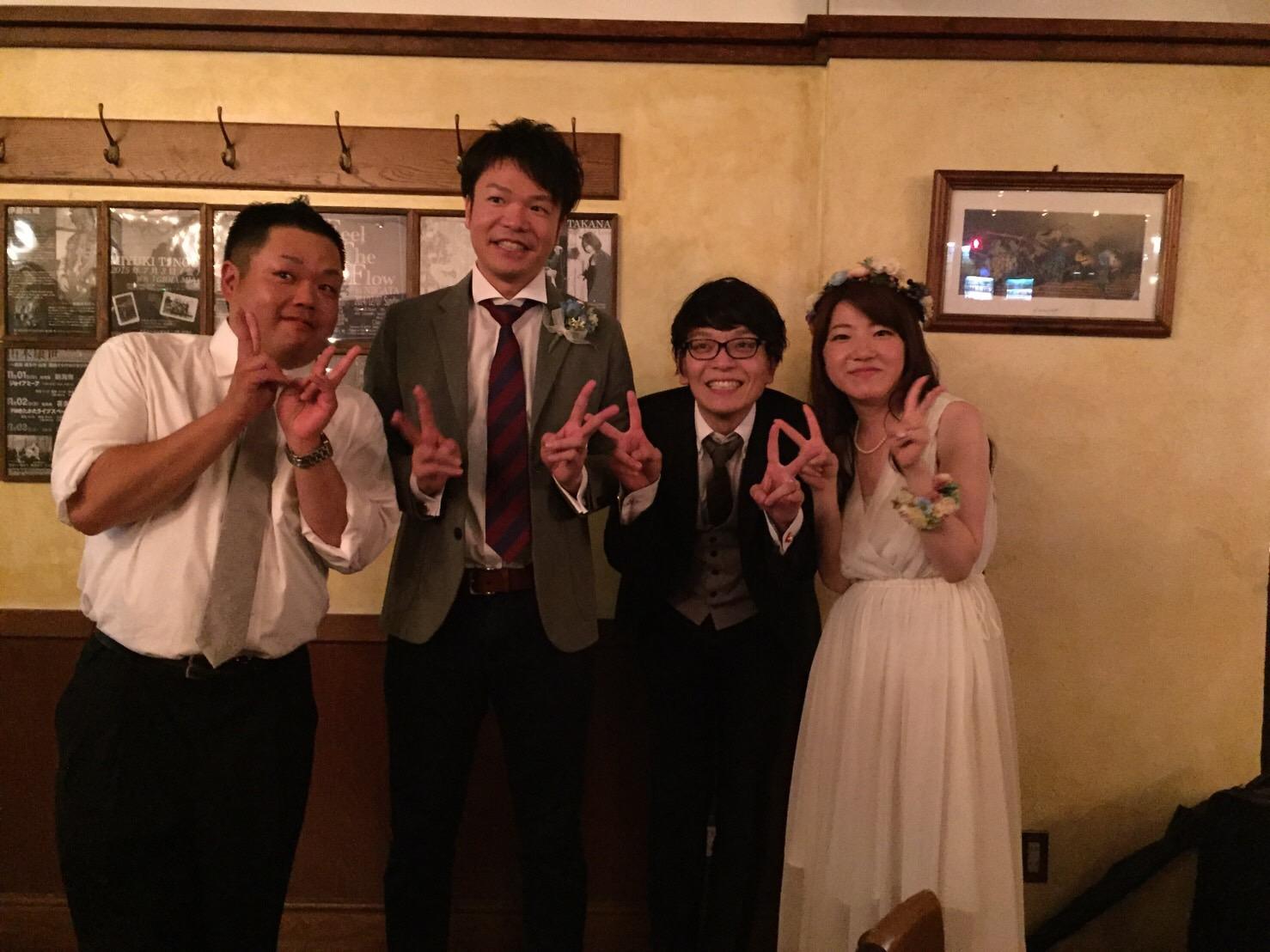 今井君と竹田君、本当に大切な親友。本当にありがとう。本当に大好き。愛してます。一生。