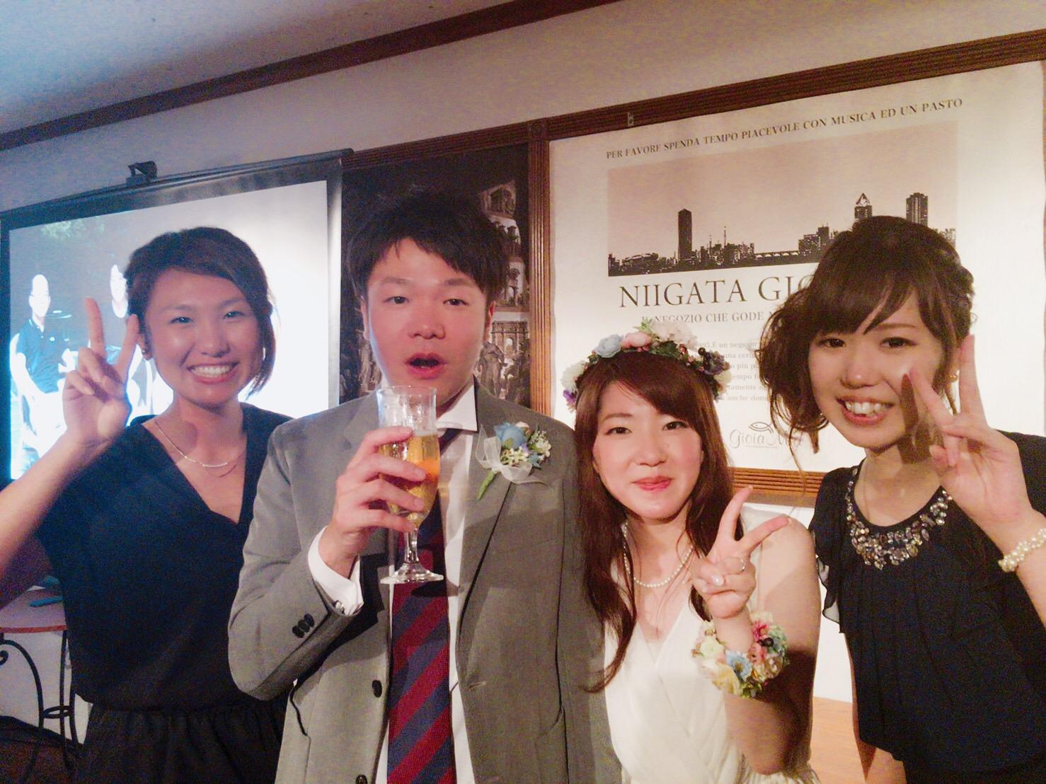 和田&あやさん 今日だけはかっこいいと言ってくれてありがとう!ナイスお世辞!