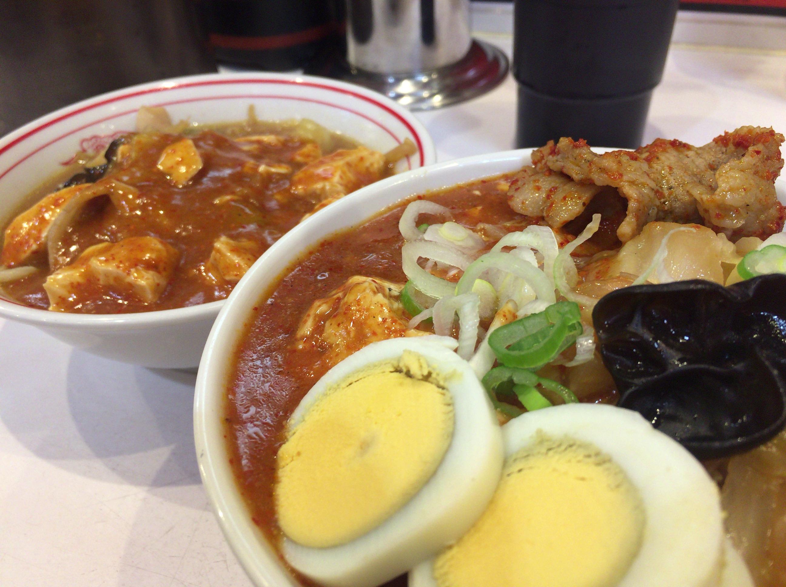 辛いものが食べたくて再び蒙古タンメン